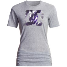 DC Shoes I Am T-Shirt - Short Sleeve, Crew Neck (For Women) in Heather Grey - Closeouts