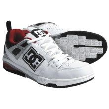 DC Shoes Impact RS Skate Shoes (For Men) in White/Black/Armor - Closeouts