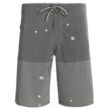 DC Shoes Interstate Boardshorts (For Men) in Pewter - Closeouts