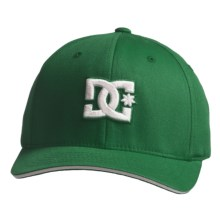 DC Shoes Jamal 6 FlexFit® Hat (For Men) in Celtic - Closeouts