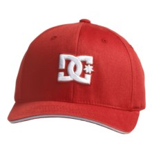 DC Shoes Jamal 6 FlexFit® Hat (For Men) in True Red - Closeouts