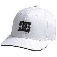 DC Shoes Jamal 6 FlexFit® Hat (For Men) in White - Closeouts
