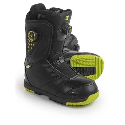 DC Shoes Judge BOA® Snowboard Boots (For Men) in Black/Tennis - Closeouts