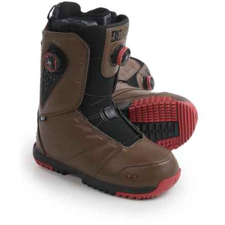 DC Shoes Judge BOA® Snowboard Boots (For Men) in Dark Brown - Closeouts