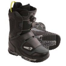 DC Shoes Judge Snowboard Boots - BOA®, Alpha Liner (For Men) in Black/Grey - Closeouts