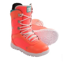 DC Shoes Karma Snowboard Boots (For Women) in Pink - Closeouts