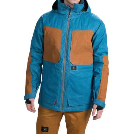 DC Shoes Kingdom Snowboard Jacket - Waterproof, Insulated (For Men) in Faience - Closeouts
