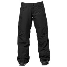 DC Shoes Lace Snowboard Pants - Insulated (For Women) in Black - Closeouts
