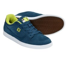 DC Shoes Landau S Skate Shoes (For Men) in Blue/White - Closeouts
