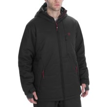 DC Shoes Leader Jacket - Insulated (For Men) in Black - Closeouts