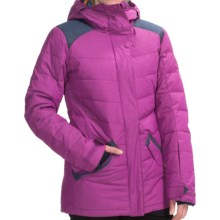 DC Shoes Liberty Down Jacket - Waterproof, 450 Fill Power (For Women) in Hollyhock - Closeouts