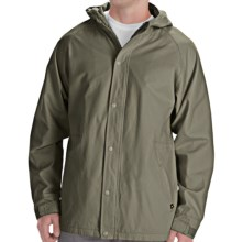 DC Shoes Marshall Hooded Jacket (For Men) in Olive - Closeouts