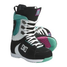 DC Shoes Misty Snowboard Boots (For Women) in Black/Green - Closeouts