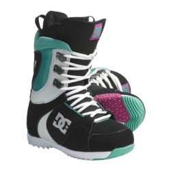 DC Shoes Misty Snowboard Boots (For Women) in Black/Green