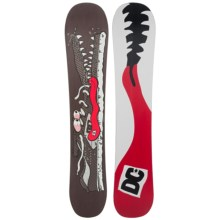 DC Shoes MLF Snowboard in Dark Chocolate  Shoe Critter/ White Red Black Logo - Closeouts