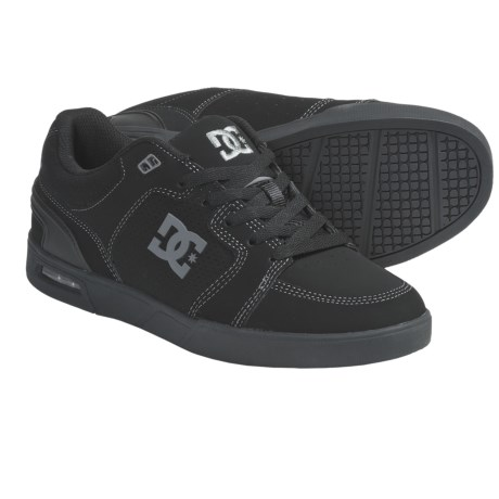 DC Shoes Monty Skate Shoes (For Men) in Black/Battleship