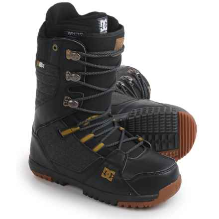 DC Shoes Mutiny Snowboard Boots (For Men) in Black/Gold - Closeouts