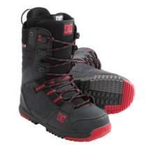 DC Shoes Mutiny Snowboard Boots (For Men) in Black - Closeouts