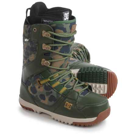 DC Shoes Mutiny Snowboard Boots (For Men) in Camo - Closeouts