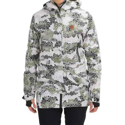 DC Shoes Nature DPM Snowboard Jacket - Waterproof, Insulated (For Women) in Dpm Camo - Closeouts