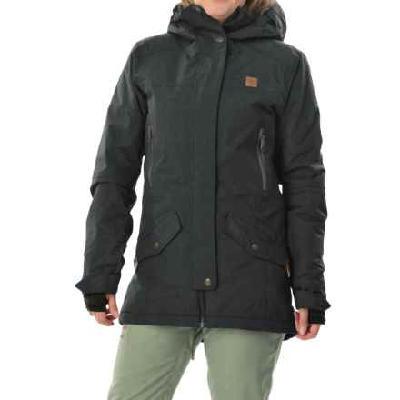 DC Shoes Nature Snowboard Jacket - Waterproof, Insulated (For Women) in Anthracite - Closeouts