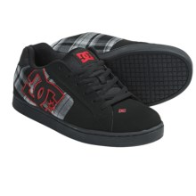 DC Shoes Net SE Skate Shoes (For Men) in Black/Athletic Red/Black - Closeouts