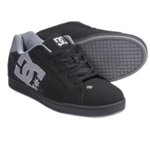 DC Shoes Net Skate Shoes (For Men) in Black/Black/Battleship - Closeouts