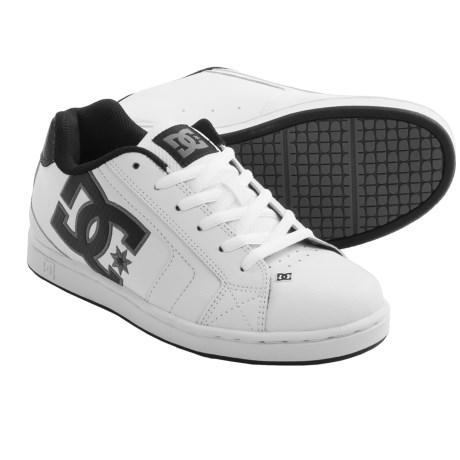 DC Shoes Net Skate Shoes (For Men) in White/Battalship/White