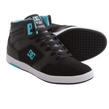 DC Shoes Nyjah High Top Sneakers (For Men) in Black/Celtic - Closeouts