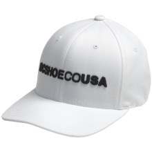 DC Shoes Obvious Cap (For Men) in White - Closeouts