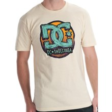 DC Shoes Par T-Shirt - Cotton, Short Sleeve (For Men) in Natural - Closeouts