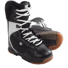 DC Shoes Park Boot Snowboard Boots - Park Liner (For Men) in Black/White - Closeouts