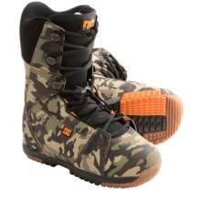 DC Shoes Park Boot Snowboard Boots - Park Liner (For Men) in Camo - Closeouts