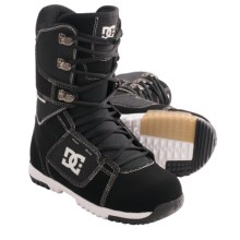 DC Shoes Park Snowboard Boots (For Men) in Black/White - Closeouts