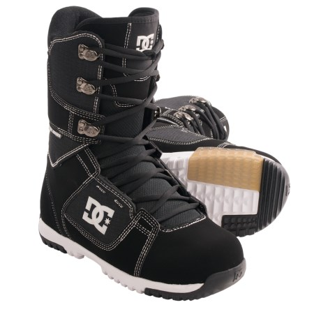 DC Shoes Park Snowboard Boots (For Men) in Black/White