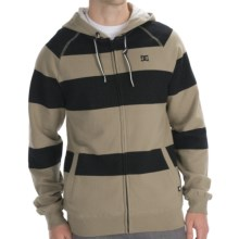 DC Shoes Parsons Fleece Hoodie - Full Zip (For Men) in Army - Closeouts