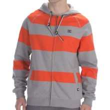DC Shoes Parsons Fleece Hoodie - Full Zip (For Men) in Monument - Closeouts