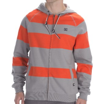 DC Shoes Parsons Fleece Hoodie - Full Zip (For Men) in Monument