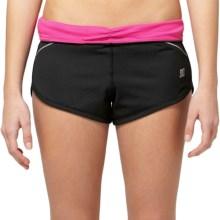 DC Shoes Pave Training Shorts (For Women) in Black - Closeouts
