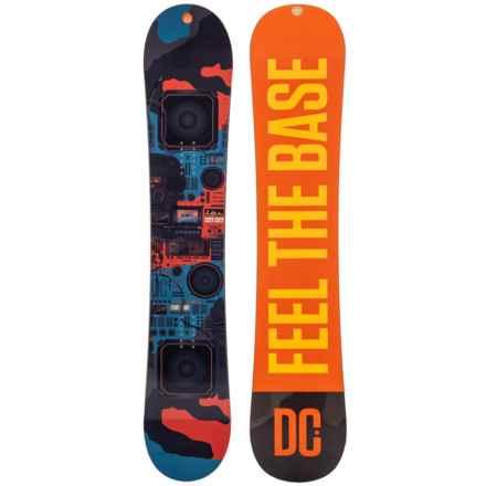 DC Shoes PBJ Truebase Snowboard in Orange Boombox W/Black/Yellow/Orange Logo - Closeouts