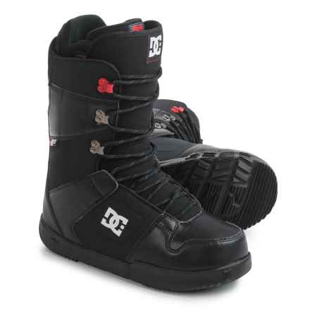 DC Shoes Phase Snowboard Boots (For Men) in Black/Red - Closeouts