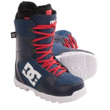 DC Shoes Phase Snowboard Boots (For Men) in Blue/White - Closeouts