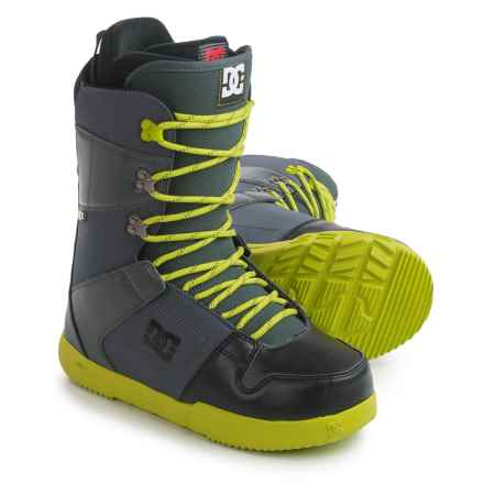 DC Shoes Phase Snowboard Boots (For Men) in Dark Shadow/Black/Li - Closeouts