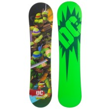 DC Shoes Ply Mini Snowboard (For Kids) in 111 Turtles - Closeouts
