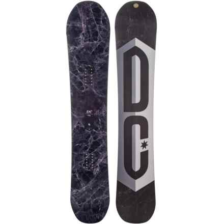 DC Shoes Ply Snowboard in Fig Marble W/Fig Marble/White/Purple/Black Logo - Closeouts