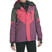 DC Shoes Prima Jacket - Waterproof, Insulated (For Women) in Azalea/Dark Purple/Shadow - Closeouts