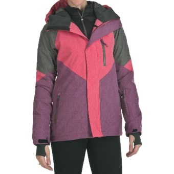 DC Shoes Prima Jacket - Waterproof, Insulated (For Women) in Azalea/Dark Purple/Shadow