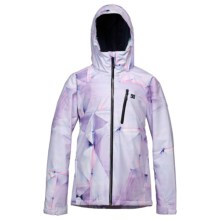 DC Shoes Prima Snowboard Jacket - Waterproof, Insulated (For Women) in Bright White/Pattern 3 - Closeouts