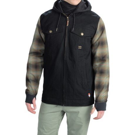DC Shoes Provoke Flannel Shirt Jacket Insulated (For Men)