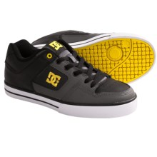 DC Shoes Pure Skate Shoes (For Men) in Battleship/Yellow - Closeouts